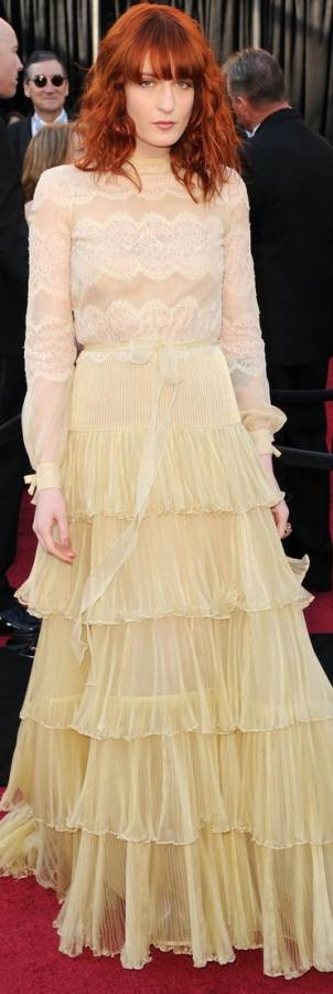 florence-welch-2011 oscar gown