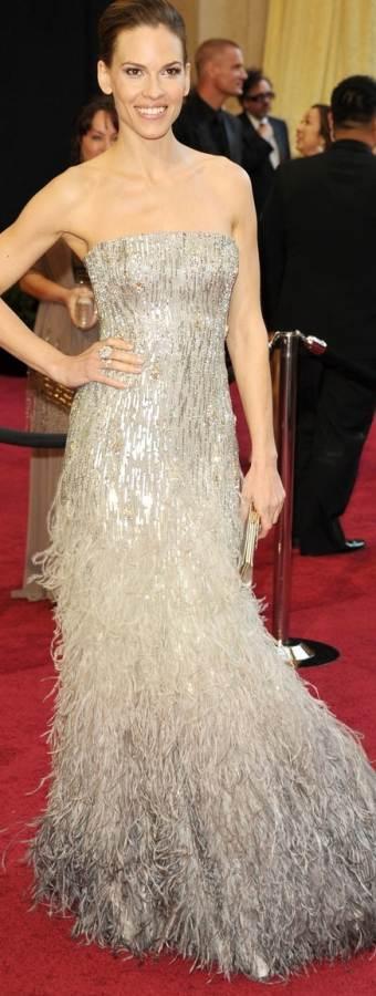 hilary-swank-2011 oscar gown