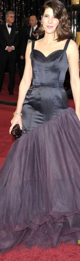 marisa-tomei-2011 oscar gown