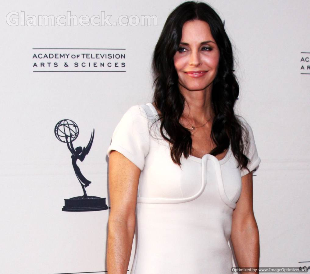 Courtney Cox at An Evening With'Couggar Town