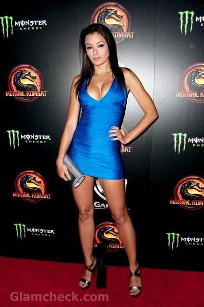 Jo Garcia Turns Up The Heat Mortal Kombat Legacy Premiere