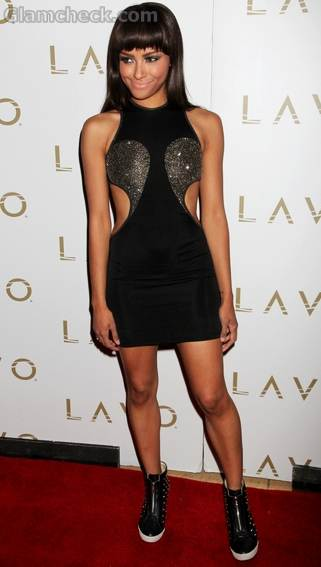 Kat Graham Hosts The Night Lavo Nightclub