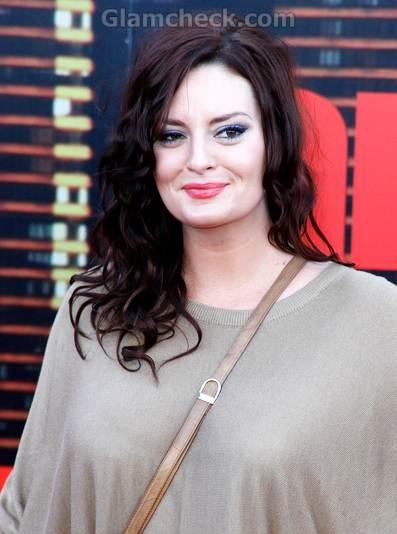 Morgana Robinson dresses chic comfortable arthur premiere