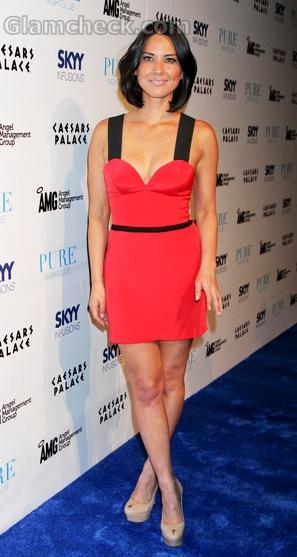 Olivia-Munn-red-dress-by-Jay-Godfrey