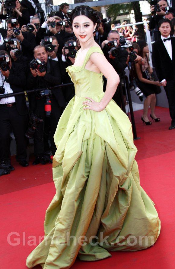 2011 Cannes film festival Fan Bingbing The Tree of Live Premiere