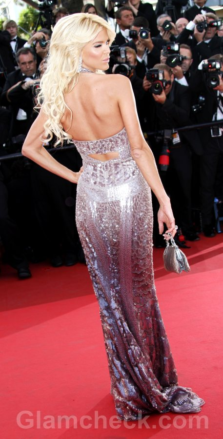 2011 Cannes film festival Victoria Silvstedt The Tree of Live