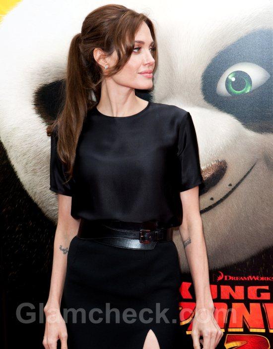 Angelina Jolie hairstyle Kung Fu Panda 2