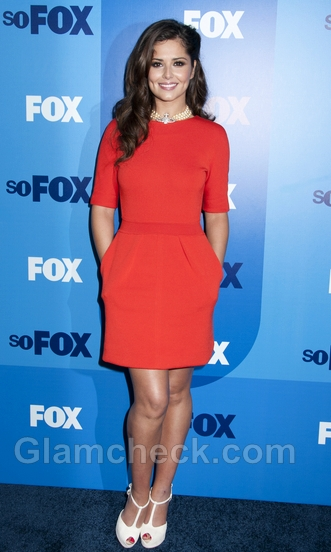 Cheryl-Cole-orange-dress-Giambattista-Valli-2011-Fox-Upfront