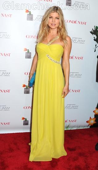 Fergie-in-BCBG-Max-Azria-gown