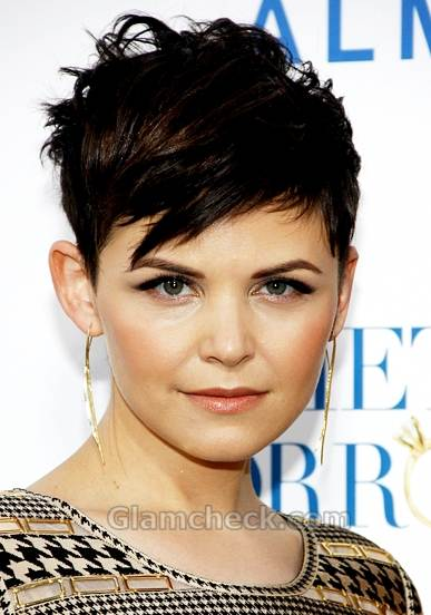 Ginnifer Goodwin cropped hairstyle