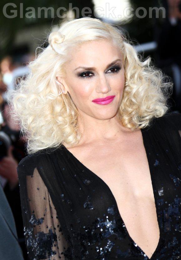 Gwen Stefani Hairstyle Makeup 2011 cannes film festival