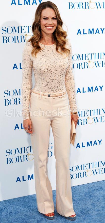 Hilary Swank michael kors outfit Something Borrowed LA Premiere