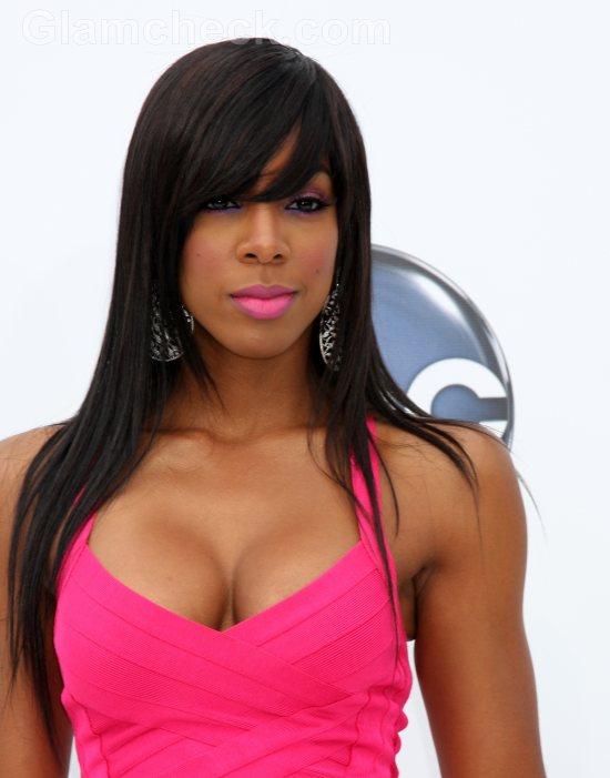 Kelly Rowland  hairstyle 2011 Billboard Music Awards