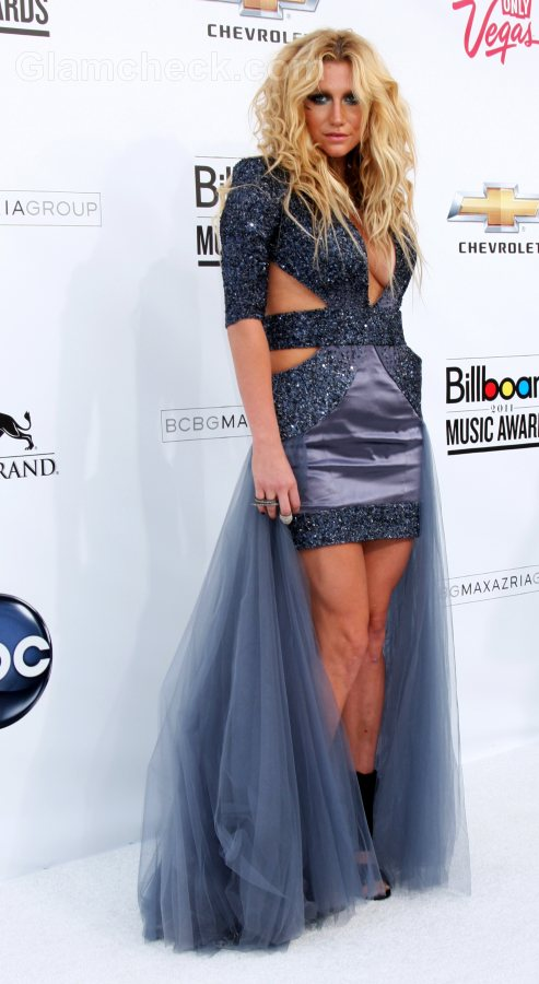 2011 Most Beautiful Girls: Ke$ha Makeup & Hairstyle : 2011 Billboard Music Awards