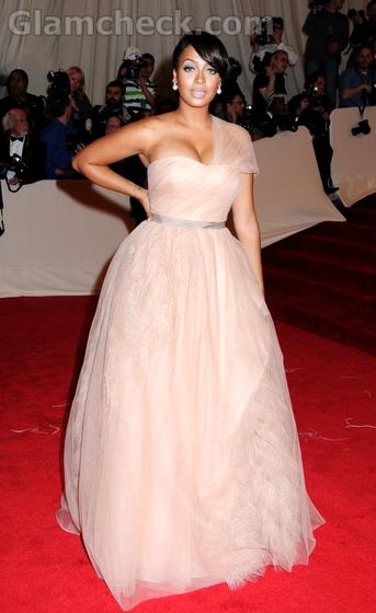 LaLa-Vasquez-Anthony-MET-gala-event-Vera-Wang-gown