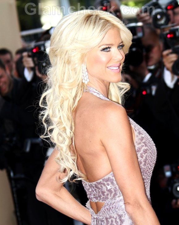 Victoria Silvstedt 2011 Cannes film festival