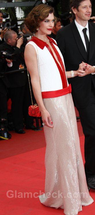 Worst dressed celebrities Milla Jovovich cannes 2011
