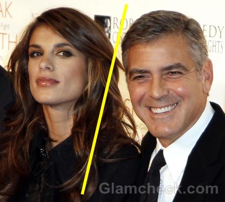 George Clooney break off Elisabetta Canalis
