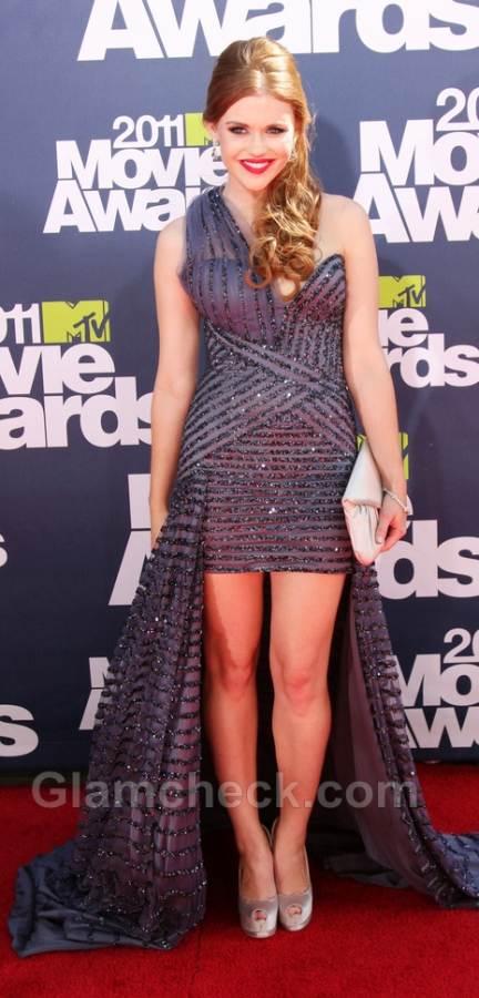 Holland Roden worst dressed 2011 mtv awards