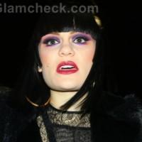 Jessie J falls off stage