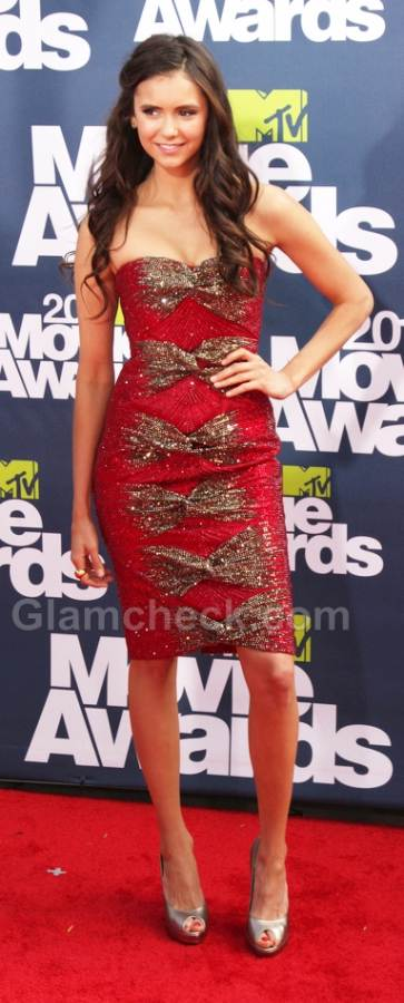 Nina Dobrev worst dressed 2011 mtv awards