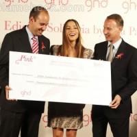 Sandra-Inbarra-cancer-foundation-receives-check