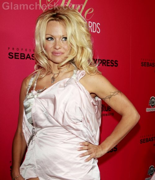 Pamela Anderson designs stocking collection