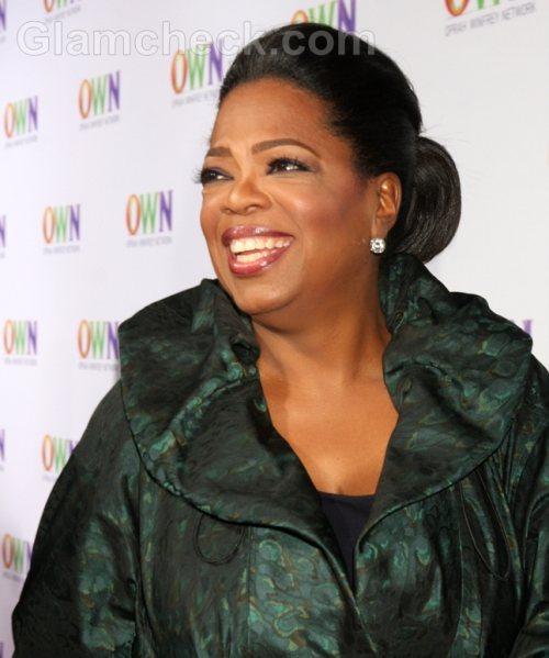 Oprah interviews ralph lauren charity