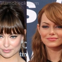 olivia Wilde emma Stone Revlon new faces