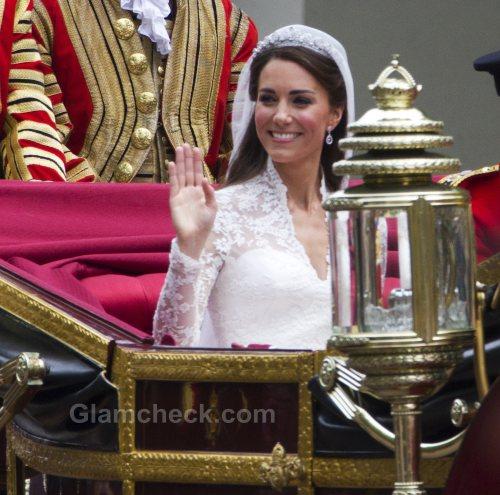 Exhibit of Royal Wedding Dress