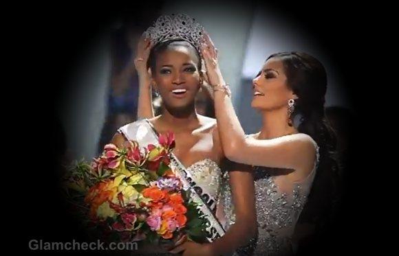 Miss Universe 2011 winner Miss Angola Leila Lopes