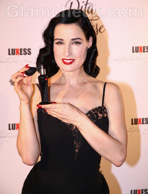 Dita-Von-Teese-Launches-New-Fragrance-in-Berlin