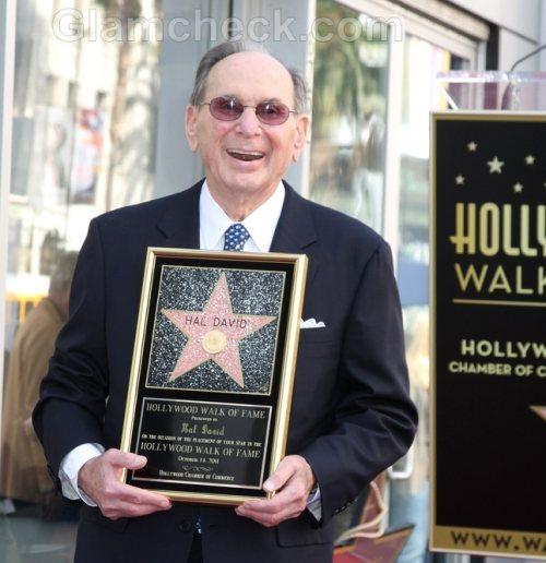 Hal David Gets Star on Walk of Fame