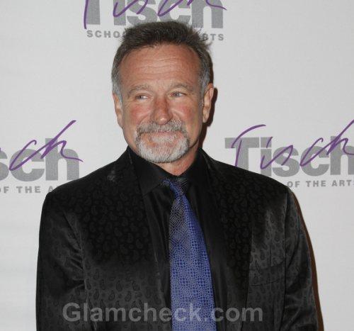 Robin Williams Walks Down the Aisle Again