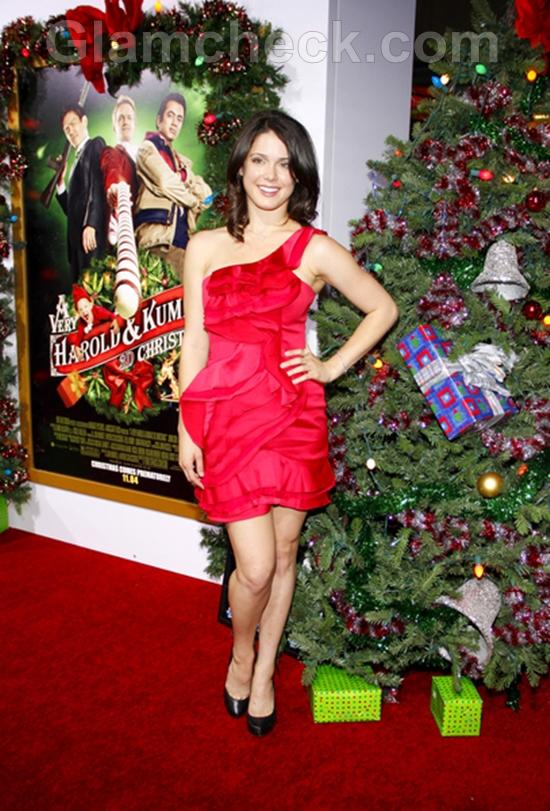 Ali-Cobrin-Red-at-dress-at-Premiere-A-Very-Harold-Kumar-Christmas