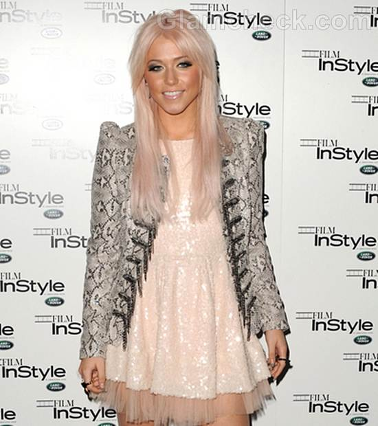 Amelia Lily Pretty in Pink at InStyle Party