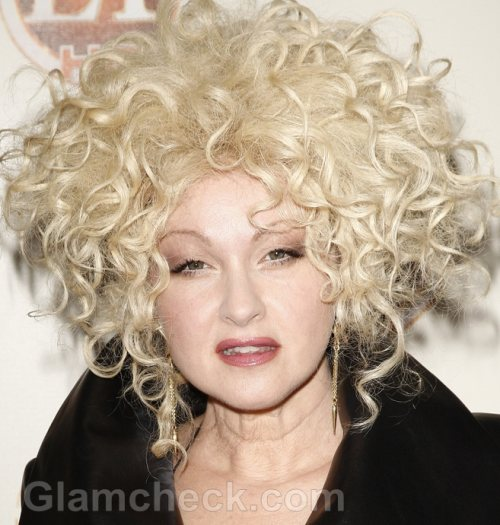 Cyndi Lauper Honored for Charity Work