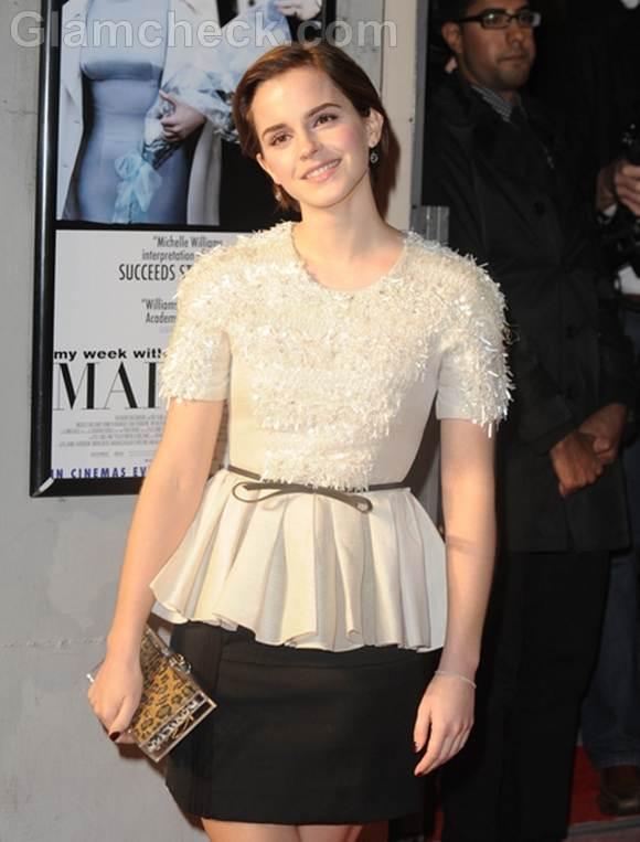 Emma watson UK Premiere My Week With Marilyn