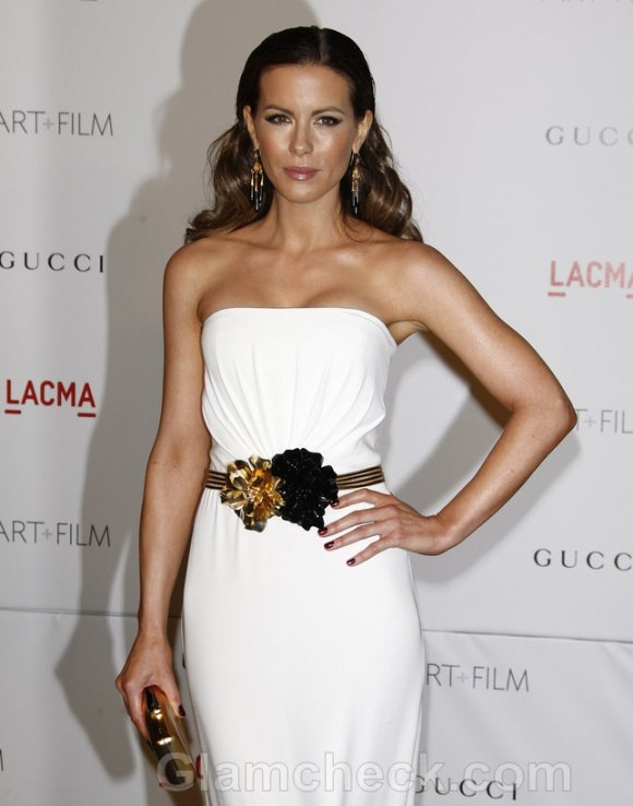Kate Beckinsale Gorgeous in Gucci at LACMA Gala
