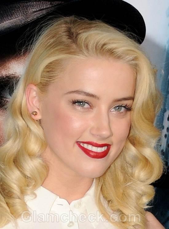 Amber Heard Classes Up Sherlock Holmes LA Premiere
