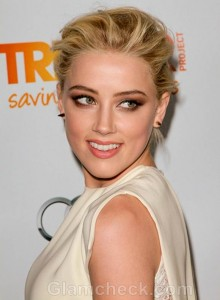 Amber Heard Ivory Gown The Trevor Projects 2011 Trevor Live