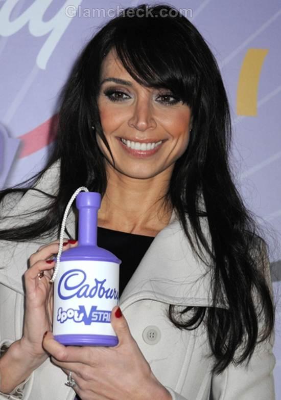 Christine Bleakly Cadbury Photocall