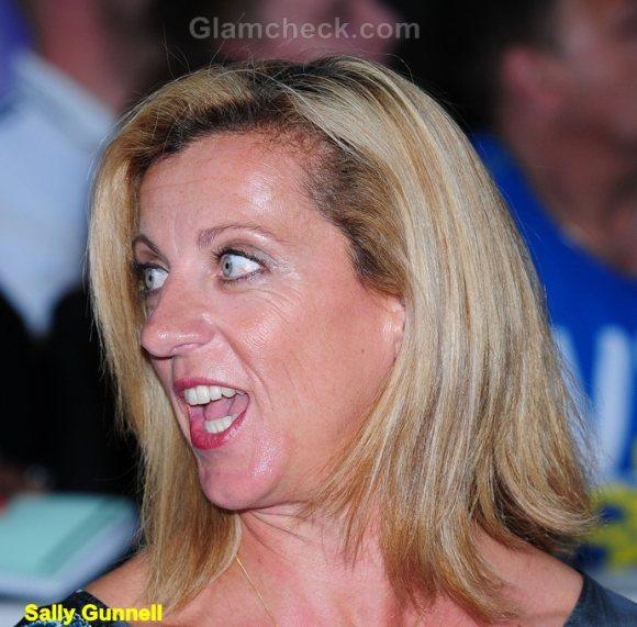 Funny Celebrity Photos 2011 Sally Gunnell