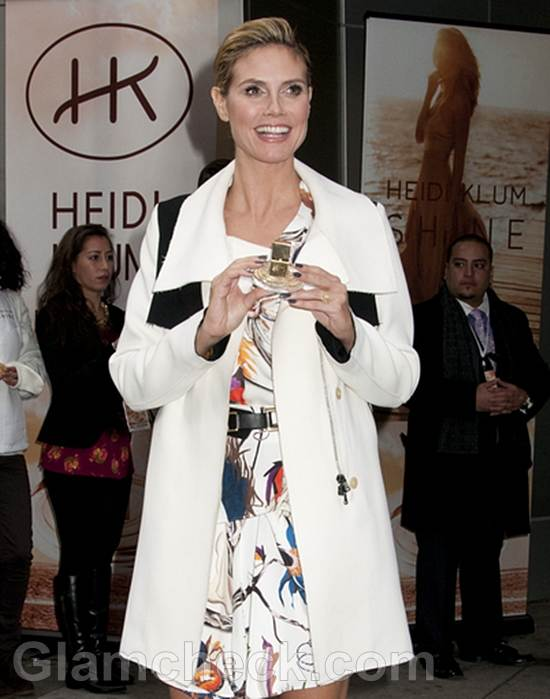 Heidi Klum Launches New Fragrance in NYC