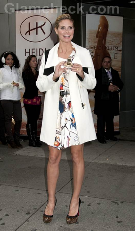 Heidi Klum Launches New Fragrance
