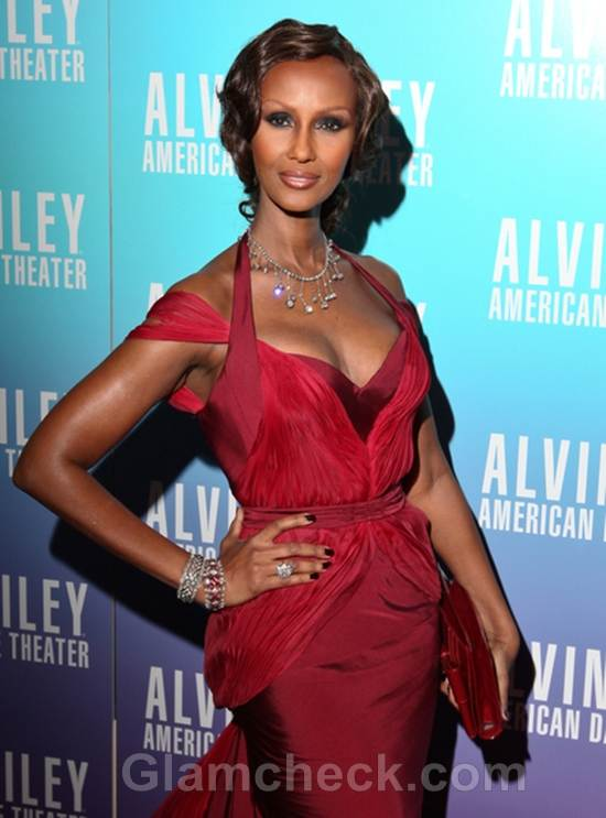 Iman Red Dress