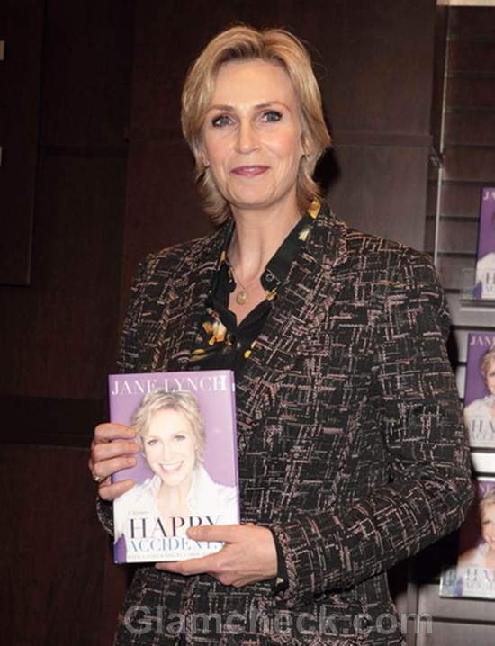 Jane Lynch Signs Copies Happy Accidents at The Grove