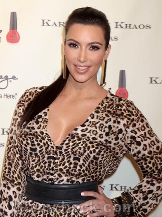 Kim Kardashian Kardashian Khaos Opening