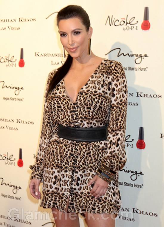 Kim Kardashian for Kardashian Khaos Opening