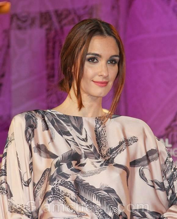 Paz Vega Elegant in Dusty Pink Gown Texas Killing Fields Premiere